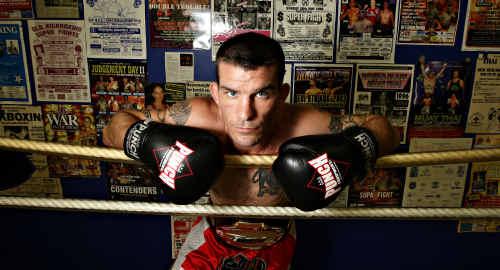 Muay Thai boxer Kurt Finlayson is ready to take on Yoshi Ueda from Japan tomorrow in Caloundra.