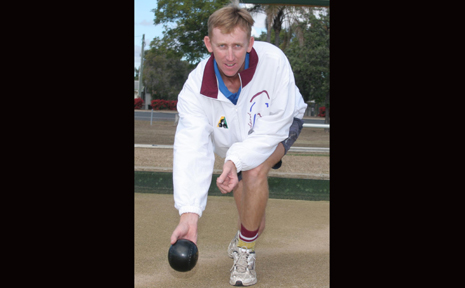 SO CLOSE: Biloeal lawnbowler Damien Rideout made it all the way to the final of the Queensland Champion of Club Champions men's singles tournament but lost to an Australian rep player.