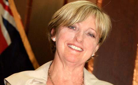 FORMER Tweed mayor Joan van Lieshout.