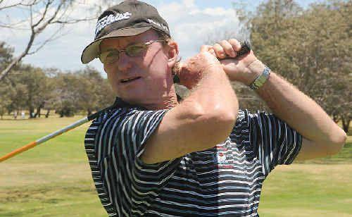 Bundaberg Golf Club president Trevor McLeod.
