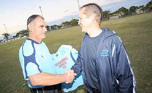 Brett Hambrecht's short-lived stint as Bundaberg Spirit coach has come to an end because of work commitments.
