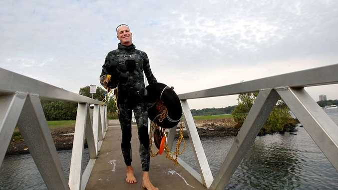 Tweed Snorkelling and Whale Watching owner Erez Beatus is adding freediving courses to his business.
