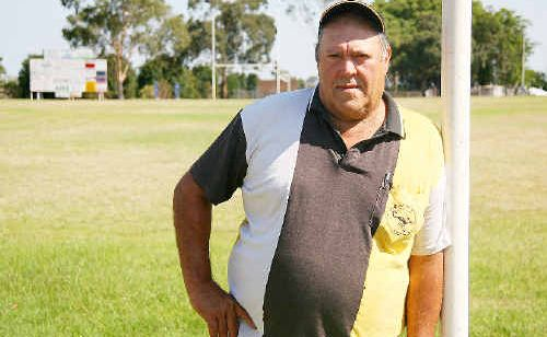 Kevin Grant has taken on the challenge of the role as Childers Junior Rugby League Club president for 2010.