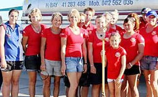 The outriggers of Kai Puna Outrigger Club can't wait to head to the Cook Islands to compete.