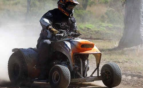 Maryborough's John Dodds had the first win in his ride-on mower career after three years of trying.