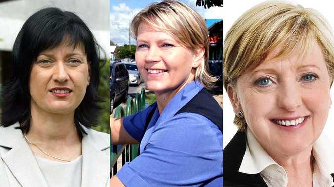 Justine Elliot, Tania Murdock and Joan van Lieshout.