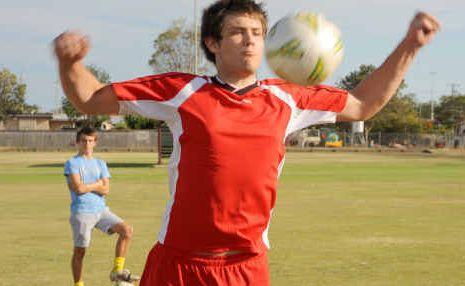 Michael Coleman and Lynton Seary are Bundaberg Under-19 Spirit hopefuls.