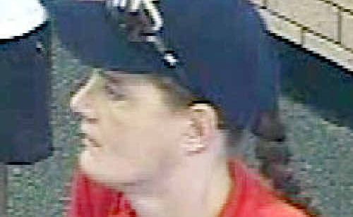 Dulcie Birt was caught on CCTV at the Westpac bank branch at Booval Fair shopping centre on the day of her disappearance.