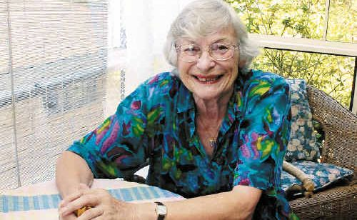 Audrey Mallaby, who has lived in big cities, greatly prefers life in Lismore with its country surroundings and friendlier atmosphere. And she's not alone, according to new research showing seniors living in country areas enjoy a better lifestyle.
