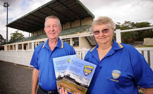 With the help of Nev Hegarty, Fay Gibson has put together a book on the history of the Nambour Cricket Club.