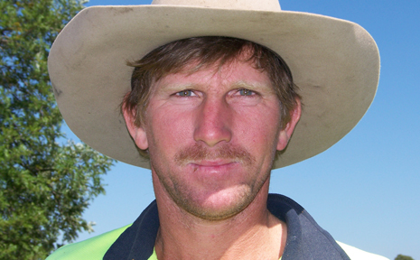 HAIRY TALE: Monto man Steve Pailthorpe is taking part in Movember
