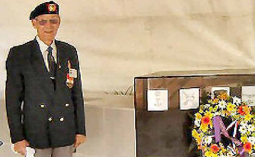 Chris Visser, of Tabulam, feels relief at finally being recognised for his service efforts in the Dutch Army in Indonesia.