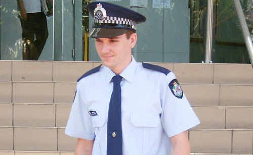 Constable Chris Hayes feared he had contracted hepatitis C after a woman with the disease spat blood on him during an incident this year.