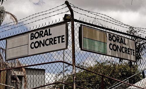 Council has rejected plans for a bigger Boral concrete plant.