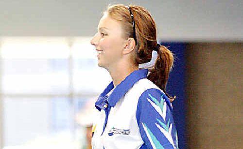Australia's Kelsey Cottrell.