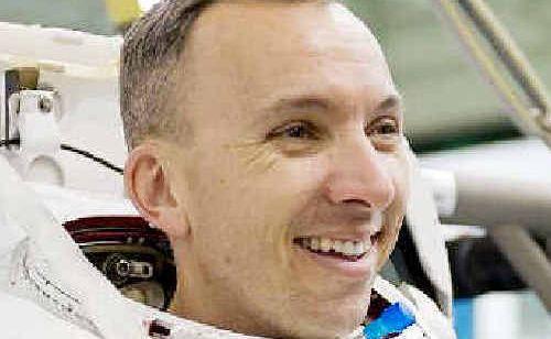 Astronaut Randy Bresnik.