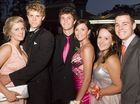 Emma Guest, Hugo Radford, Joe Barrett, Danielle Tilly, Brittany Warfield and Ian Lucke at The Glennie School formal at Picnic Point, 19 November 2009.