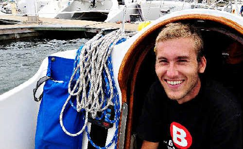 After two and a half years at sea going adventurer Nick Jaffe has returned home docking in Coffs.