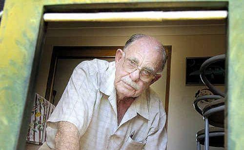 Ken Stumer had a fire cracker put through his cat's door.