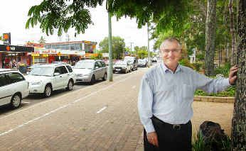 Professor Ken Stott says tomorrow's sustainability debate at USQ will discuss diverting traffic from the Esplanade.