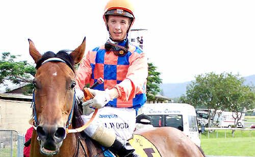 Justin Wood returns to the scales with Murwillumbah Cup winner Gather.