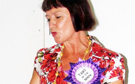 Annmarie Nicholson won Tart of the Show.