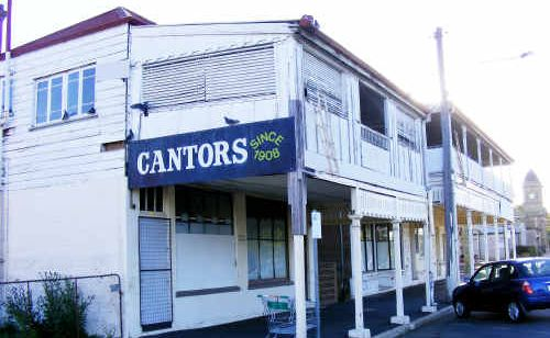 One half of Plumb's Chambers, the former Cantors building at 82 Fitzroy Street, will be demolished.