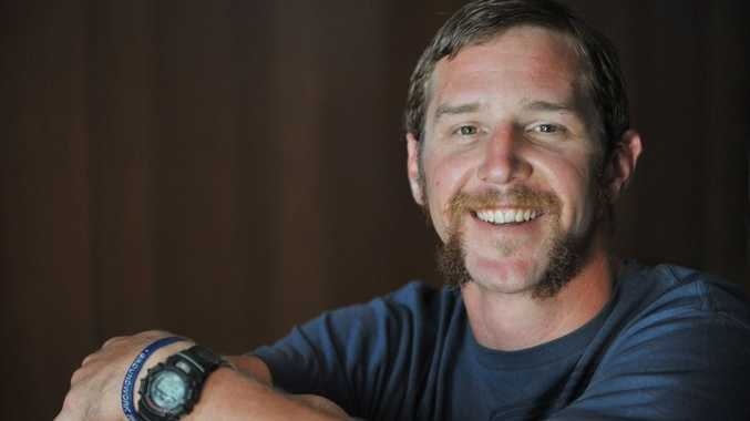 Michael Laffan survived an horrific car accident on the Bruce Highway near Caloundra in 2007, and is now supporting Movember to spread a positive message about men's depression.