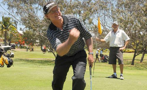 A great round from Bundaberg Golf Club president Trevor McLeod helped his club to a 12-match lead heading into Sunday's second leg of the President's Cup.