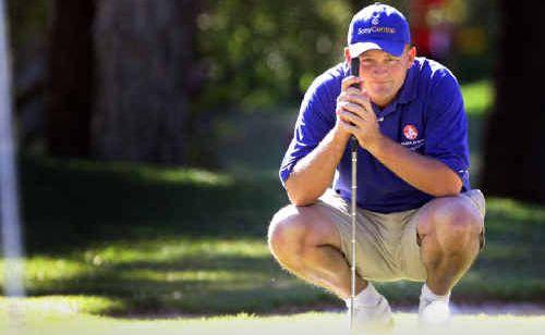 Buderim golfer Marcus Cain shot a round of 69.