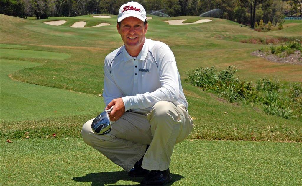 Golf pro Peter Heiniger.