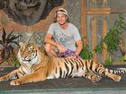 Say cheese with Juma the Sumatran tiger.