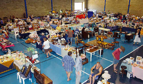 The antique and collectables fair held at the Maryborough showgrounds over the weekend.