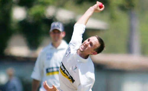 Bowler Robbie Fitzgerald returned for Brothers against Frenchville on the weekend.