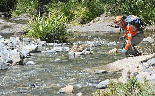 The SES joined an extensive police search of the Wayper Creek area that failed to find any further remains.