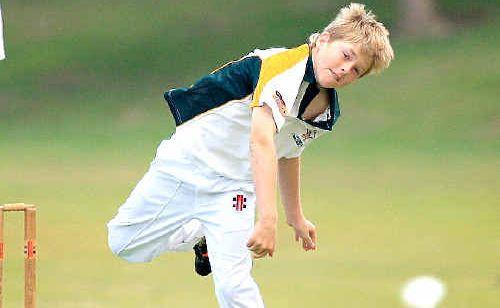 Cudgen's Zac Garland, 11, in action.
