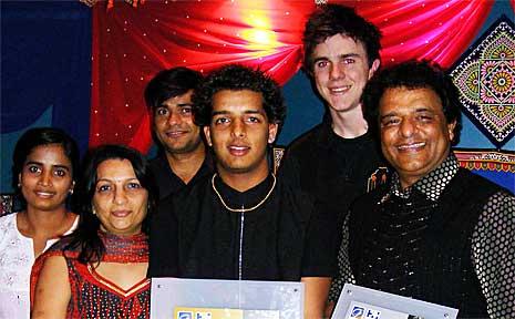 Bhawana Puri, Dipti Acharya, Juber Kapadia, Jay Acharya, Harley Mahady and Nayan Acharya are thrilled about their awards.