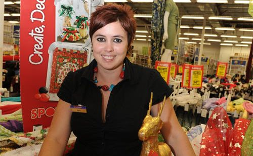 Amy See of Spotlight in Kawana has some great ideas about homemade, personalised Christmas gifts.