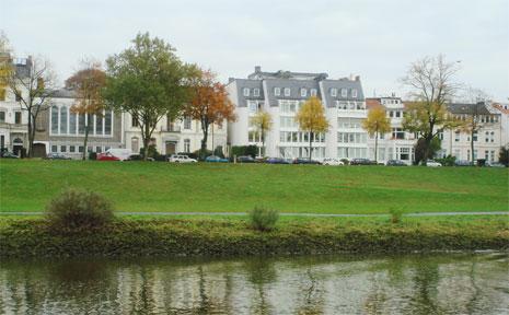 Bremen River, Weser.