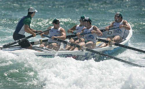North Burleigh surfrowers will be in action tomorrow.