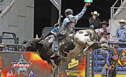 David Kennedy on Maneater at the PBR finals.
