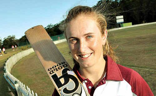 Anna Peterson hopes to find some batting form to increase her chances of a Queensland Fire call-up.