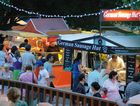 Night markets have returned to the popular Eumundi markets.