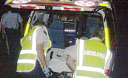 Byron Bay ambulance officers say they are struggling with the increased workload caused by schoolies celebrations, according to their union.