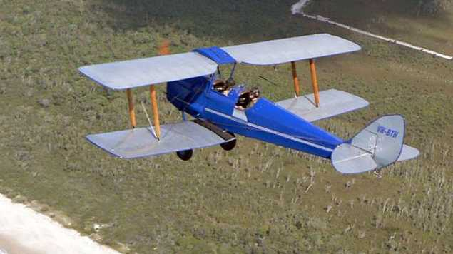Have you ever thought of exploring the beautiful Sunshine Coast by bi-plane?