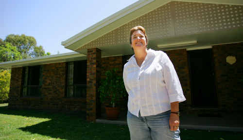 Dianne Kenzler's family home in Glenlee is up for sale.