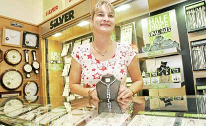 Wallace Bishop Jewellery store manager Kim Cooper is looking forward to trading on Boxing day for the first time.
