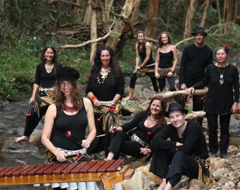 Jambezi's lively style characterised by the sounds of the Marimba.
