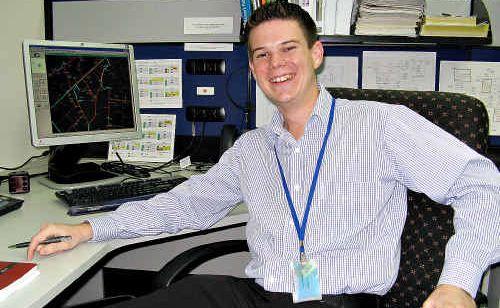Rockhampton engineer Blake Harvey has been awarded Engineers Australia's Graduate Electrical Power Engineer of the Year 2009.