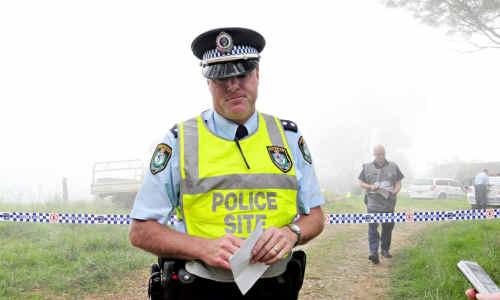 Inspector Darren Williams, of Grafton police.